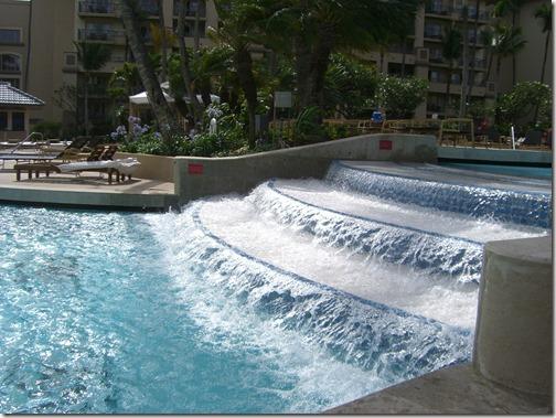 Ritz Carlton Kapalua Pool Waterfall