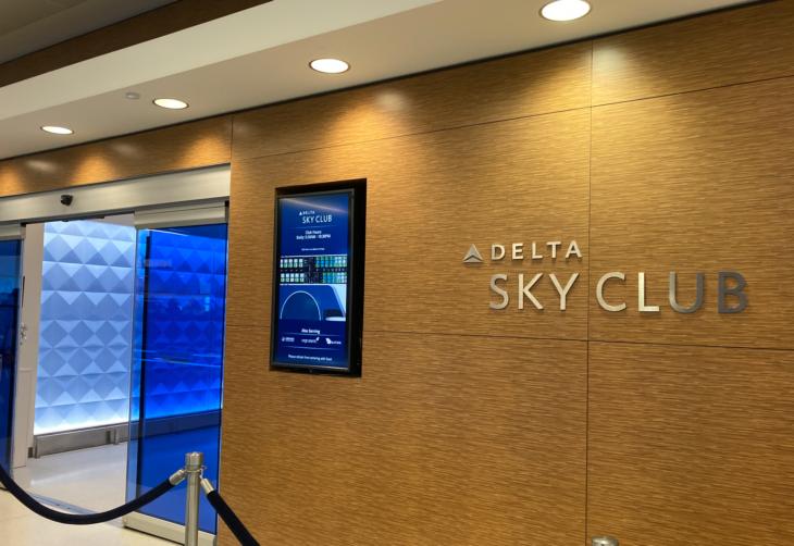 Review: Delta Sky Club New York John F. Kennedy T12 (JFK) - Points